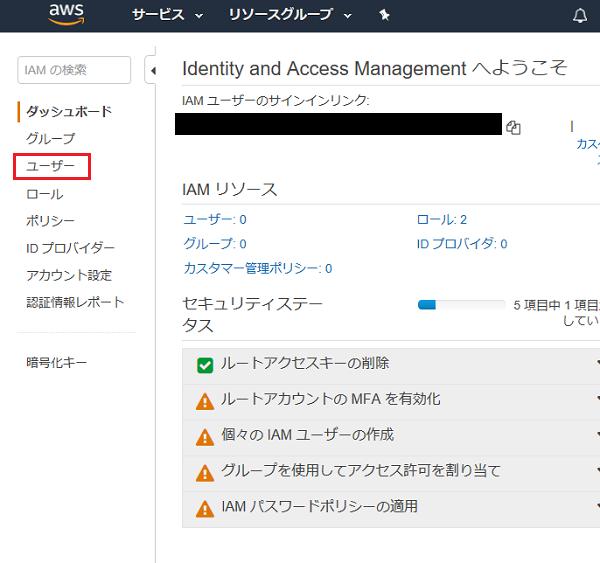 AWS Cloud9 IAM設定 ②