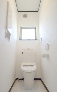 トイレに窓がある
